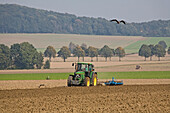 rural, agriculture, tractor, tree
