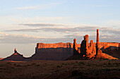 Totem Pole, Monument Valley, Navajo Tribal Lands, Utah, USA