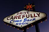 Neon signs, Las Vegas, Nevada, USA