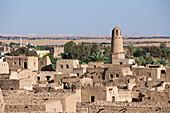 Old Town El Qasr in Dakhla Oasis, Libyan Desert, Egypt