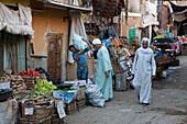 Market of Charga Oasis, Libyan Desert, Egypt