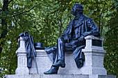 Theodor Fontane memorial, Neuruppin, Brandenburg, Germany, Europe