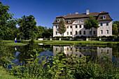 Im Schlosspark Branitz (Fürst Pückler Park) bei Cottbus, Brandenburg, Deutschland, Europa
