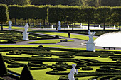 Great Garden in Herrenhausen Gardens, one of the most distinguished baroque formal gardens of Europe Hanover, Lower Saxony, Germany, Europe