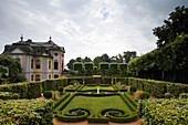 Dornburger castles, Rokoko castle, Dornburg, near Jena, Thuringia, Germany, Europe