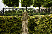 Dornburger castles, baroque garden, Dornburg, near Jena, Thuringia, Germany, Europe