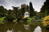 Apollo Temple in Bergpark Wilhelmshöhe, largest European hillside park, Kassel, Hesse, Germany, Europe