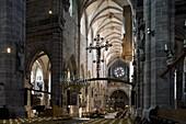St. Lorenz church in Nuremberg, Nuremberg, Bavaria, Germany, Europe