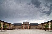 Mannheim palace, built 1720-1760, today a University, Mannheim, Baden-Württemberg, Germany, Europe