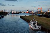 Seaport, Emden, East Frisia, Lower Saxony, Germany