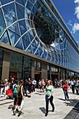 Shopping centre Zeilgalerie, Zeil, Frankfurt am Main, Hesse, Germany