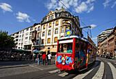 Ebbelwei Express tram, Frankfurt am Main, Hesse, Germany