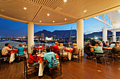 Restaurant at the Victoria and Alfred Waterfront, Capetown, Western Cape, RSA, South Africa, Africa