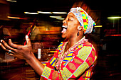 African female singer, Cape Town, Western Cape, South Africa, Africa