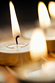 Candle, Candles, Close, Closeup, Color, Colors, Colour, Concept, Concepts, Craft, Enjoyable, Fire, Light, Lighting, Mysticism, Nobody, One, Relaxing, Romantic, Up, Vertical, Warm, Yoga, G96-830759, agefotostock