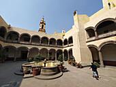 Convento de San Bernardino. Xochimilco. Ciudad de Mexico
