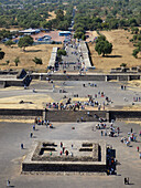 Square of the Sun. Teotihuacán. México.