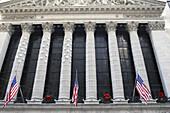 USA New York City Wall Street