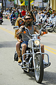 Daytona Beach Florida Biker Week motorcycle pilgrimage annual event
