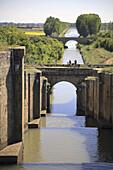 Canal de Castilla,  roman building,  Palencia,  Spain