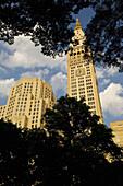 Metropolitan Life Tower (1909) at Madison Square park,  Gramercy & Flatiron district,  Manhattan,  New York,  USA,  2008