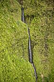 Wai´ale´ale crater the wettest place on Earth,  Wailua river,  Kauai,  Hawaii