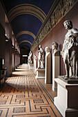 Art collection in Thorvaldsen Museum,  Copenhagen,  Denmark