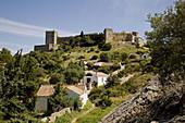 Castle,  Castellar de la Frontera. Cadiz province,  Andalucia,  Spain