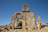 Ruins of old chapel,  Osuna. Sevilla province,  Andalucia,  Spain