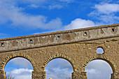 Roman Acueduct,  Alcantara Caceres province,  Extremadura,  Spain