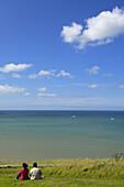 Arromanches beach( D. Day landing beach at Second World War). Arromanches_Les_Bains. Basse_Normandie. Normandy. France