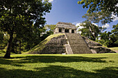 Clásico Tardío (600_900 d. C.) Grupo Norte. Palenque. Chiapas. México.