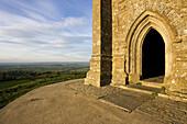 St Michael´s Tower,  Glastonbury Tor,  Somerset,  England,  UK