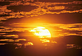 Air, Atmosphere, Clouds, Color, Colour, Horizontal, Mexico, Sky, Sun, Sundown, Sunrise, Sunset, V03-839539, agefotostock