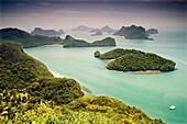 Ko Wat Ta La lookout Ang Thong National Marine Park Ko Samui,  Surat Thani Province,  Thailand,  Asia