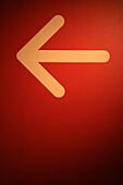 Directional, indoor, indoors, interior, Red, XE1-854407, agefotostock