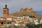 La Calahorra. XVI century castle. Marquis of Zenete. Granada province. Andalusia. Spain
