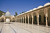 Dergah complex of Mosques,  Courtyard of the Hazreti Ibrahim Halulullah,  Prophet Abrahim´s birth cave,  Sanliurfa (aka Urfa,  ´the Prophet´s city´),  Anatolia,  Turkey