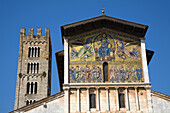 San Frediano Church,  Piazza San Frediano,  Lucca,  Tuscany,  Italy