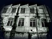 Antigua fábrica téxtil abandonada de El Masnou,  Barcelona,  Catalunya,  Espanya