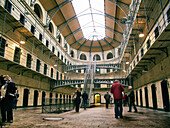 Main Court of Kilmainham jail,  Dublin,  Ireland