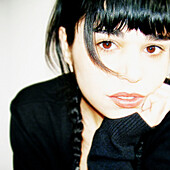 Black, Blue, Braid, Chica, Eyes, Foreground, Girl, Melancholy, Mirada, Model, Modelo, Portrait, Pose, Primer, Retrato, Trenza, XM6-844404, agefotostock