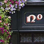 Irish pub in Temple Bar street,  Dublin,  Ireland