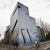 Jewish Museum,  the architect Daniel Libeskind designed the museum,  which opened to the public in 2001 The museum was one of the first buildings designed after German reunification Berlin,  Germany