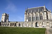 France,  Vincennes 94  Vincennes castle,  the Sainte-Chapelle Holy Chapel and the keep