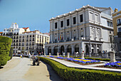 Architecture, Building, De, Edificio, Historical, La, Madrid, Month, Months, Of, Opera, The, Tourist, Touristic, XW4-869770, agefotostock