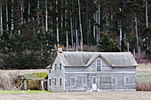 Historic Ferry House on Whidbey Island,  Washington,  part of Ebey´s Landing National Historic Reserve