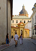 Poland,  Krakow,  Poselska street,  st Joseph church