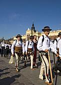 Poland Krakow traditional folk