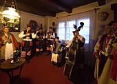 Poland Krakow,  music at 'Rydlowka' Museum